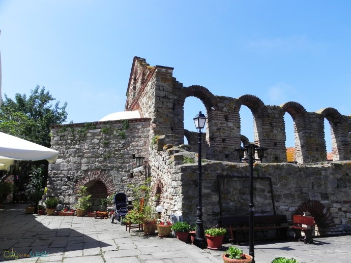 Ruins in the Old Town of Nessebar