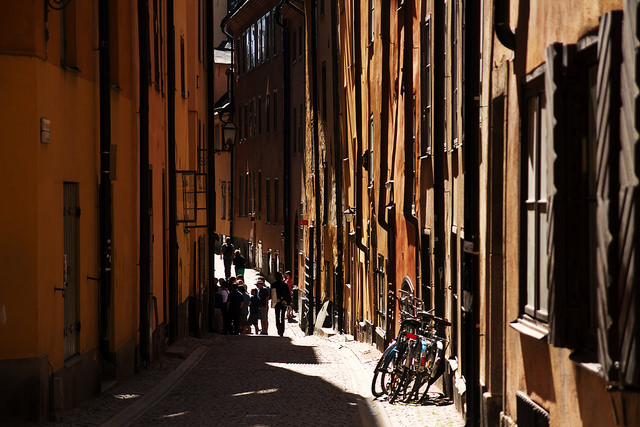 Bikes in the Old Town - Image via Flickr by Steve Braund