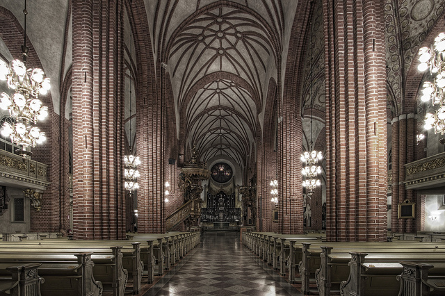 Interior of Stockholm Cathedral - Image via Flickr by Kah-Wai Lin
