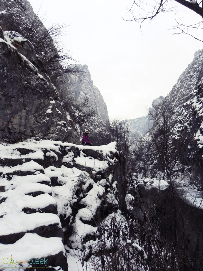 at the other side of Turda Gorge