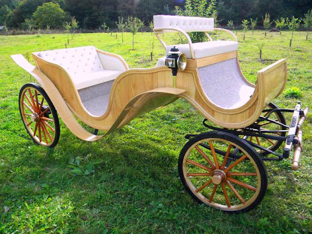 carriage ride at Agape Resort Corunca