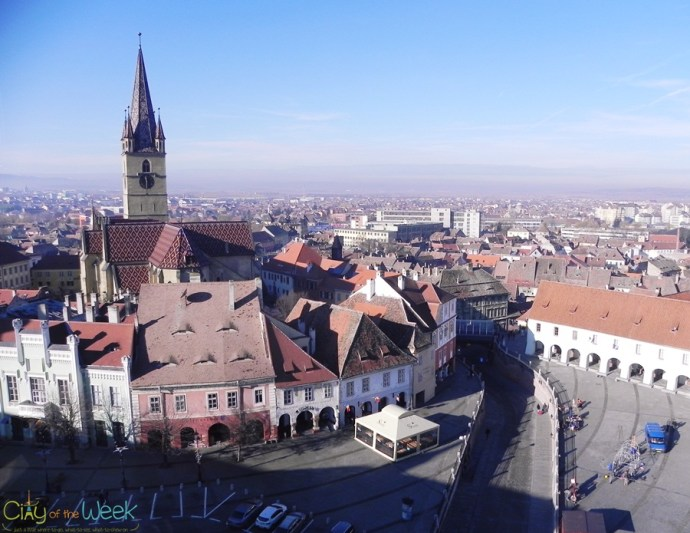 View of Sibiu from the Council Tower