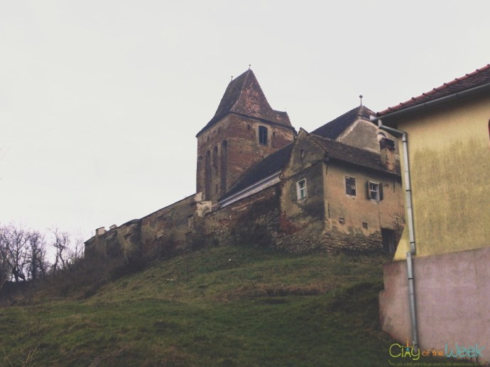 remains of the Saxon Church of Buzd | Fortified Churches