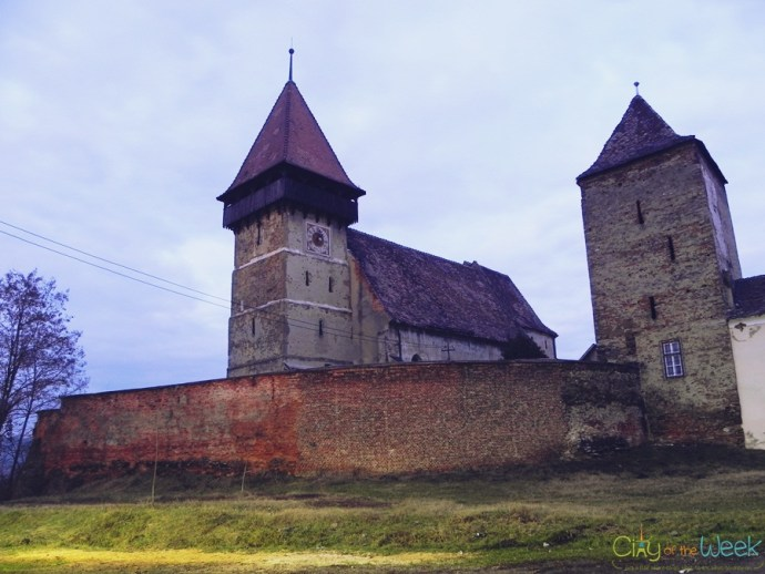 Brateiu Fortified Medieval Church | Fortified Churches