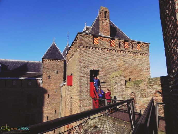 inside Muiderslot Castle walls