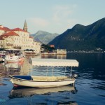 small boats in Perast