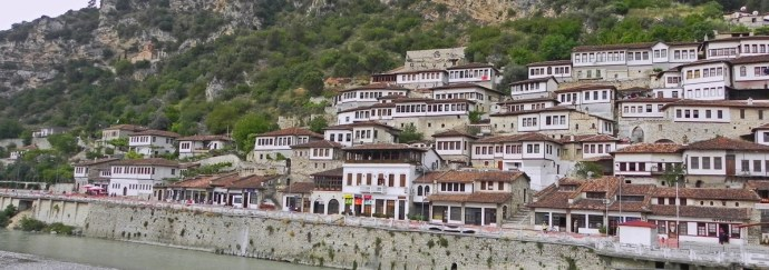 Berat, Albania - the town with a thousand eyes