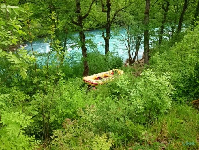 Rafting on Tara River Montenegro