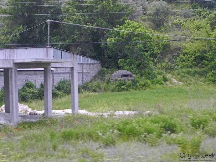 Hidden Bunker in Albania
