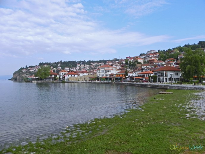 Lake Ohrid and Ohrid Town