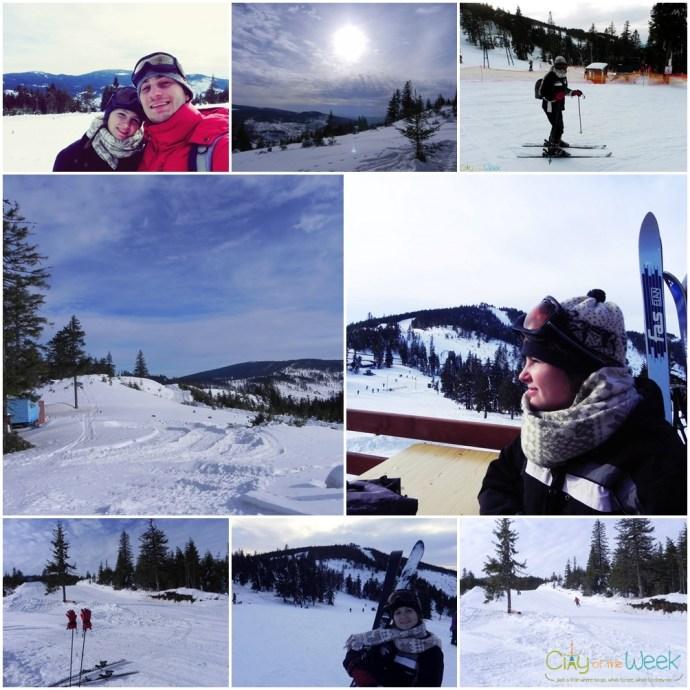 skiing in Harghita Madaras, Romania