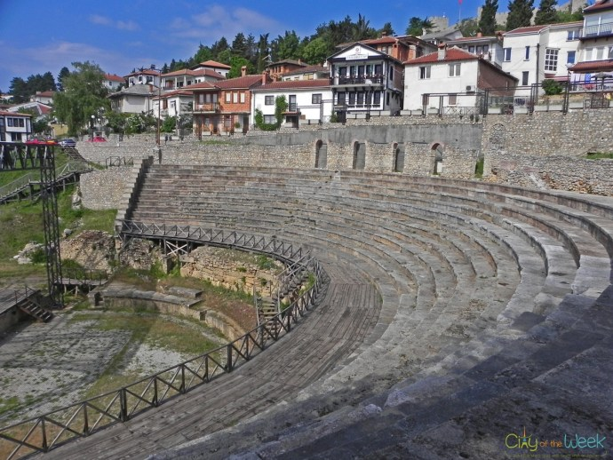 Ancient Hellenistic Theater of Ohrid