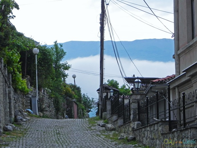 Streets of Ohrid in the Morning