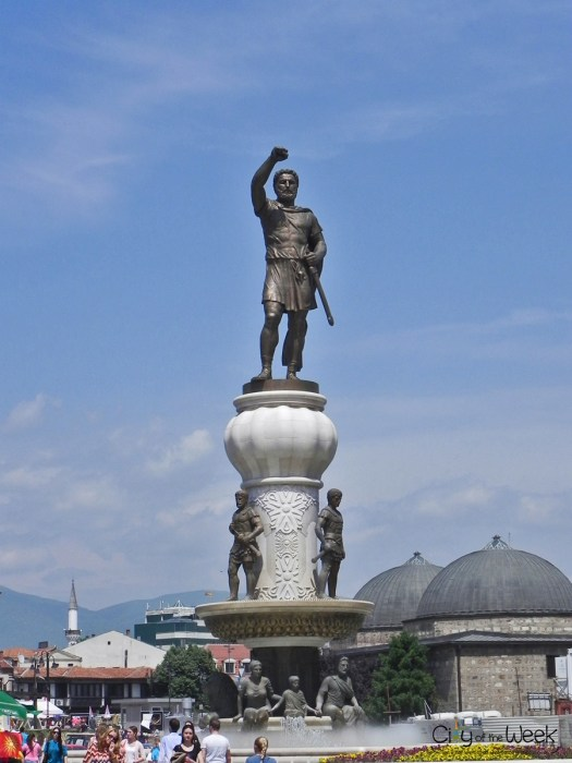 Alexander the Great Statue, Skopje, Macedonia