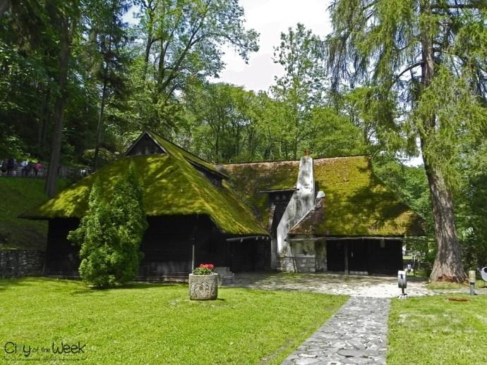 Bran Castle Garden Area