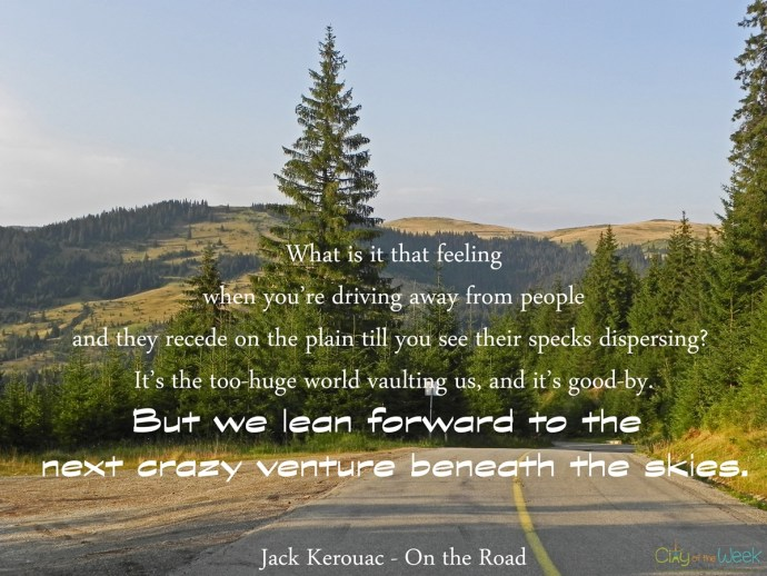 Jack Kerouac On the Road Quote