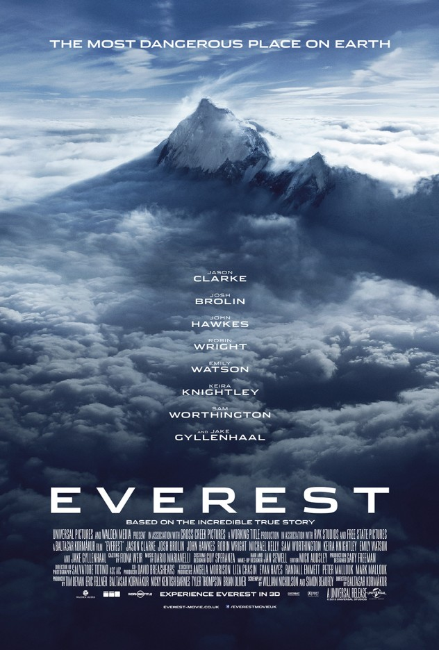 Everest Movie Poster via everest-movie.co.uk