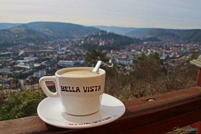 Coffee with a View - the Best View of Sighisoara
