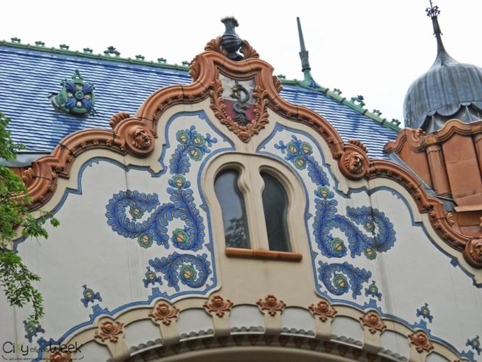 Facades of Novi Sad, Serbia