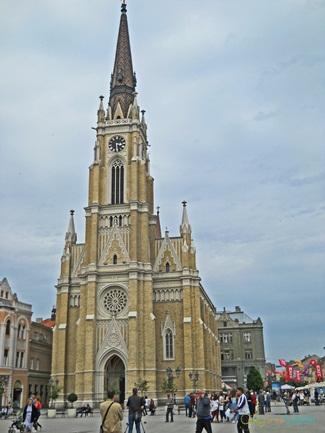 The Name of Mary Church, Novi Sad