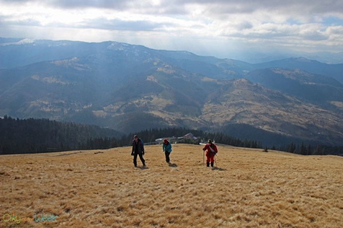 Hiking in the Rodnei Mountains of Romania