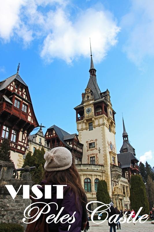 Visit Peles Castle, Romania