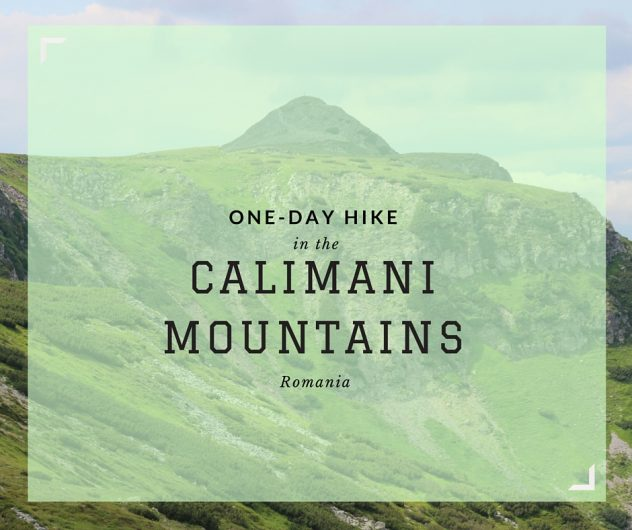 One-day Hike in the Calimani Mountains of Romania