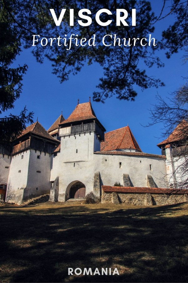 Viscri Fortified Church, Transylvania, Romania