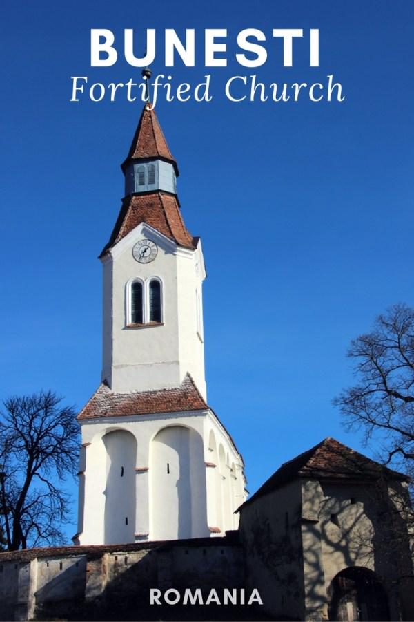 Bunesti Fortified Church, Transylvania, Romania