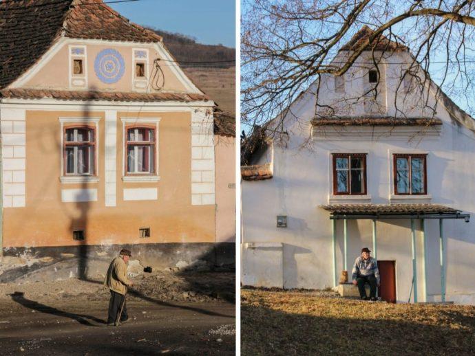 Saxon Village of Crit, Transylvania, Romania