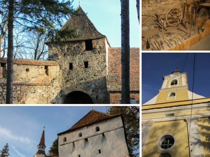 Crit Fortified Saxon Church, Transylvania, Romania