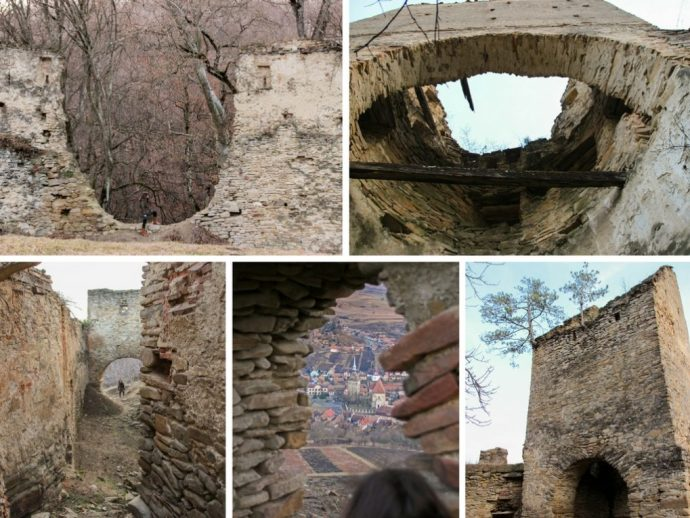 Saschiz Fortress, Transylvania, Romania
