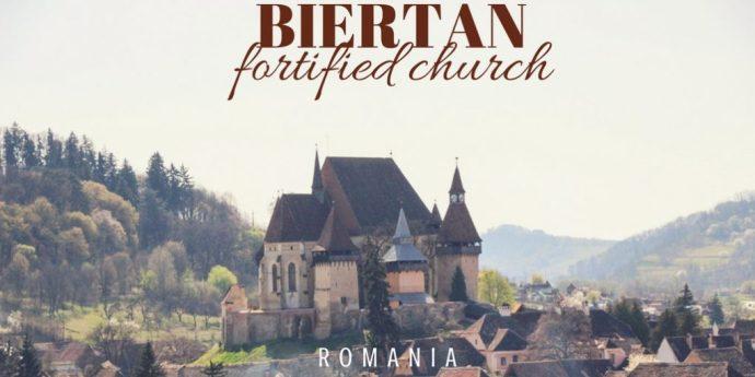 Biertan Fortified Church, Transylvania, Romania