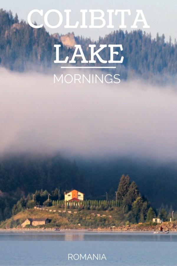 Colibita Lake Mornings, Transylvania, Romania