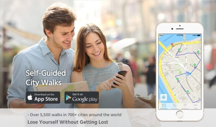 GPSMyCity travel app