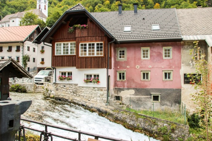 Kropa close to Lake Bled