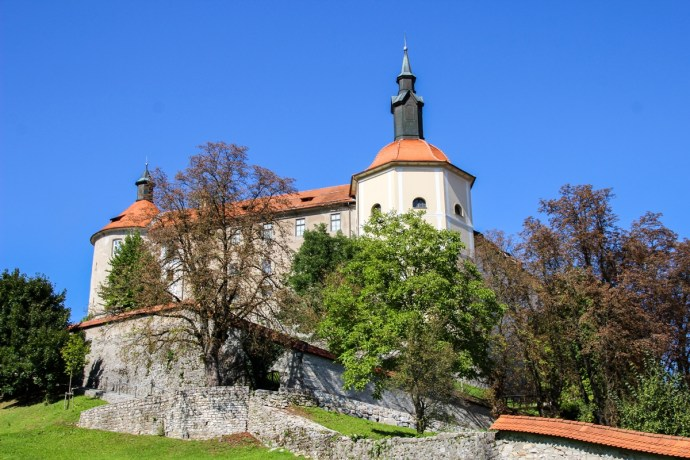 Loka Castle, Skofja Loka, Slovenia