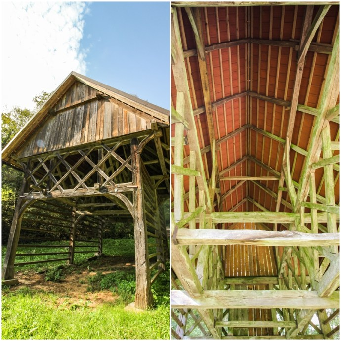 Slovenia hay drying racks