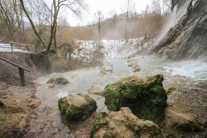 Clocota Waterfall, Hunedoara County, Romania
