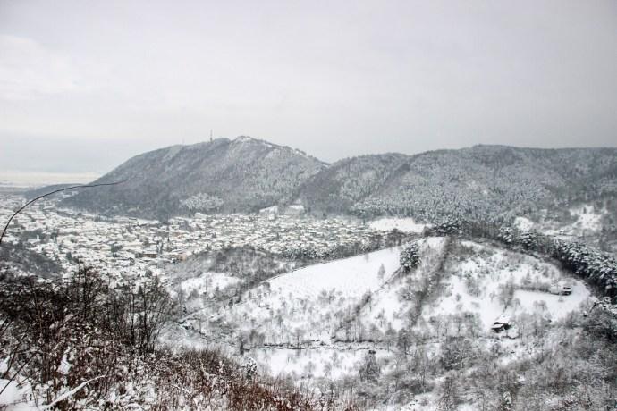 Brasov View, Southern Carpathians, Romania