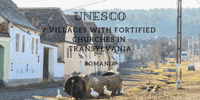 UNESCO Fortified Churches Transylvania