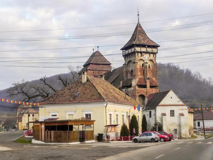 Valea Viilor fortified church, Transylvania, Romania