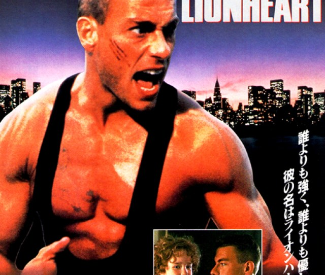 Lionheart Japanese Theatrical Poster