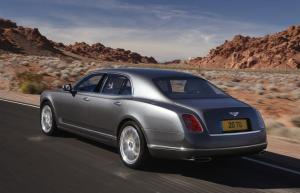 Bentley Mulsanne in Monaco