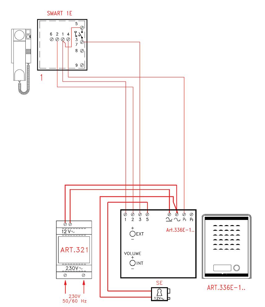 hight resolution of videx smk1s 1 way access control audio kit securitron mag lock wiring diagram