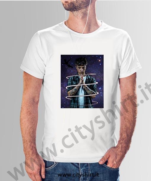 Art T-shirt Uomo Felpa con Cappuccio Ultimo Peter Pan