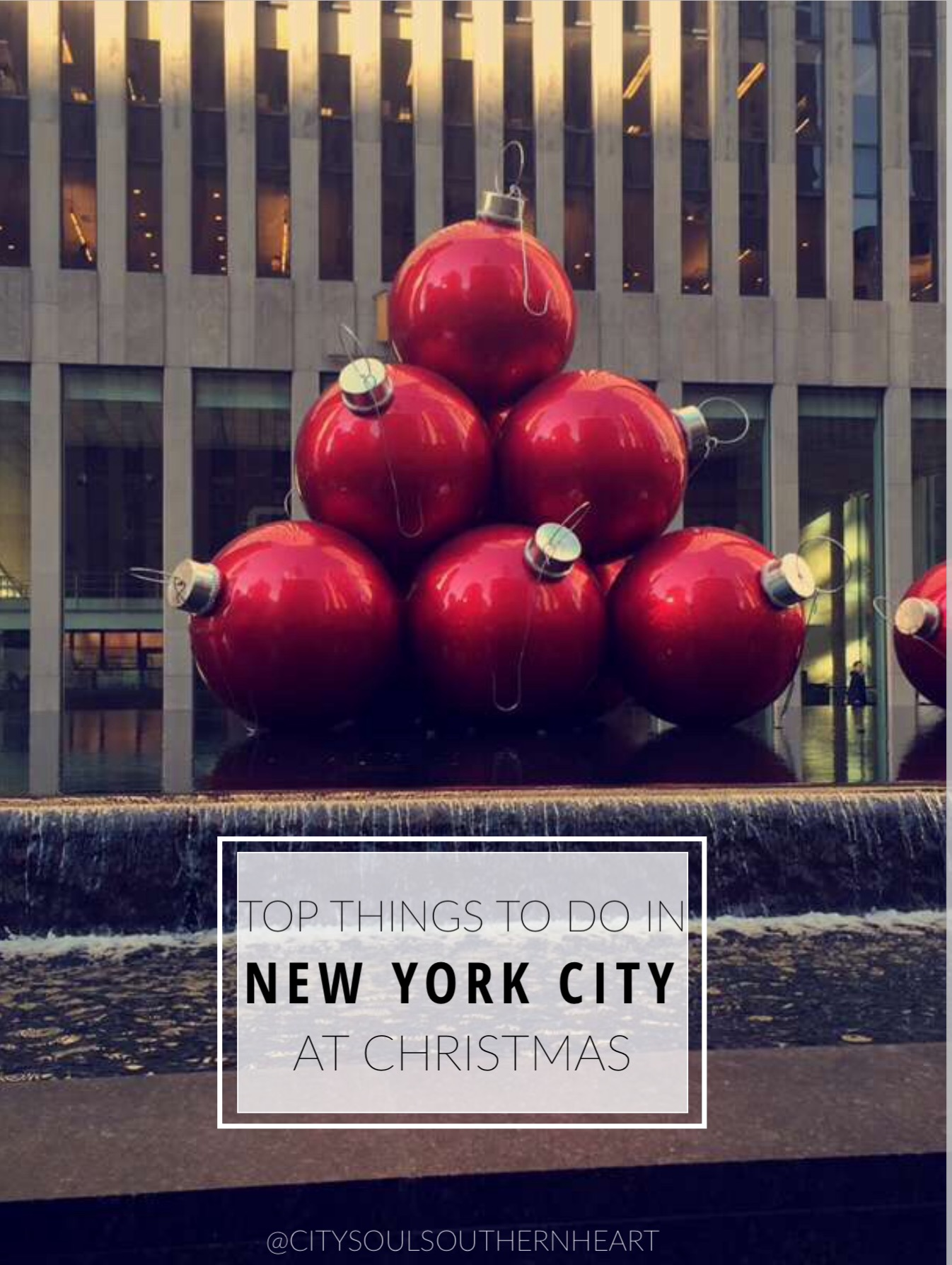 Top 10 things to do in new york city during christmas for New york city thing to do