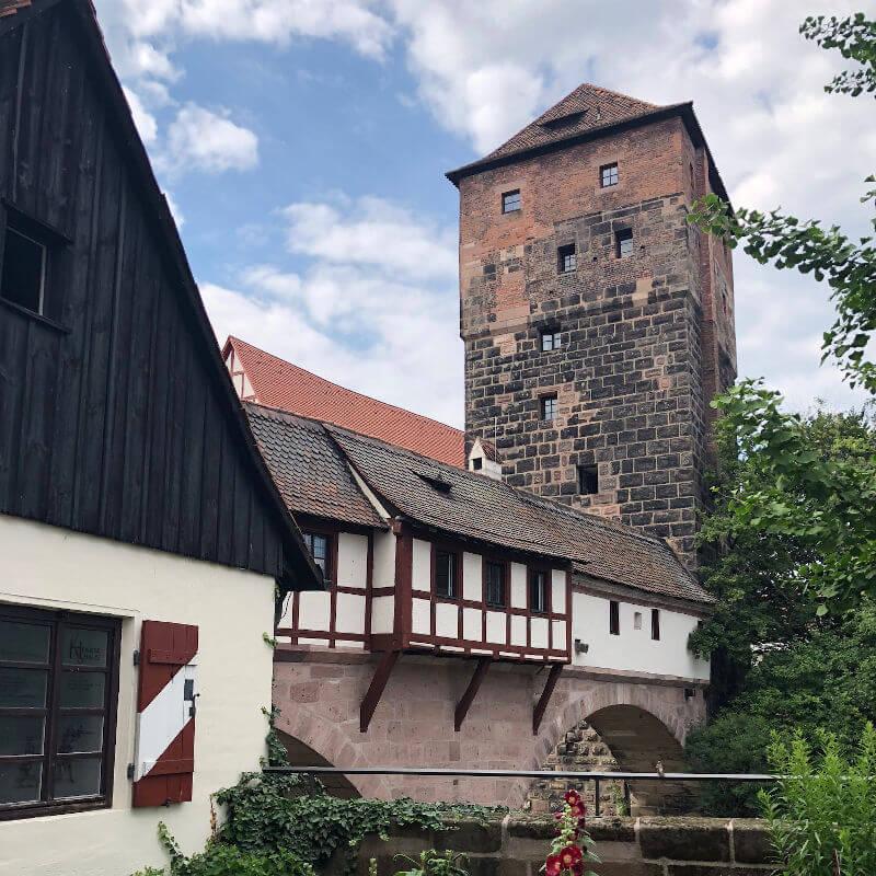 Henkersteg Bridge Nuremberg
