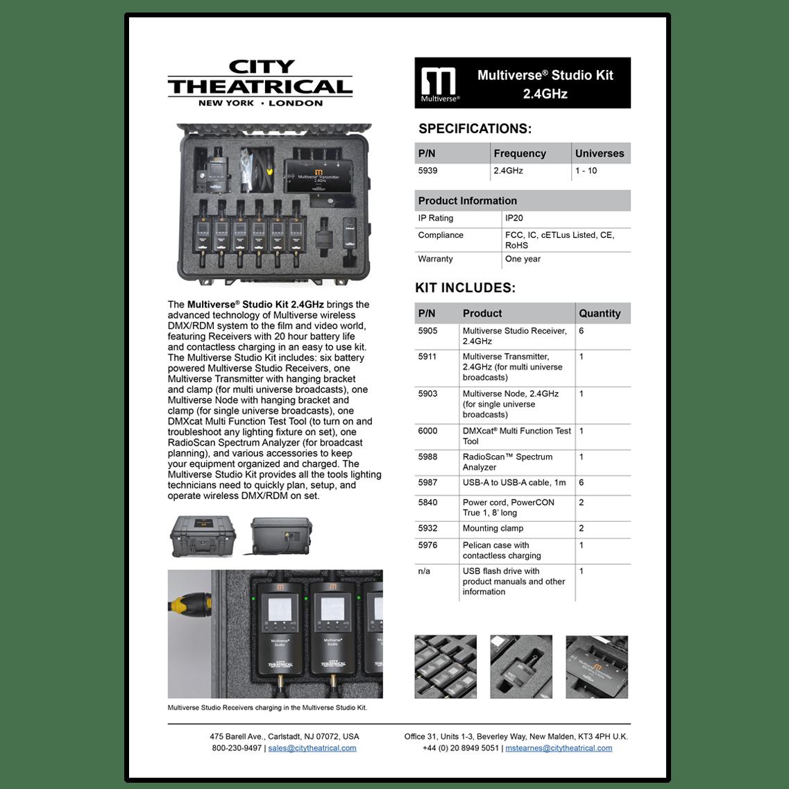 Multiverse® Studio Kit