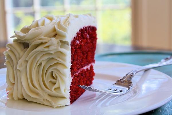 красный вельвет торт